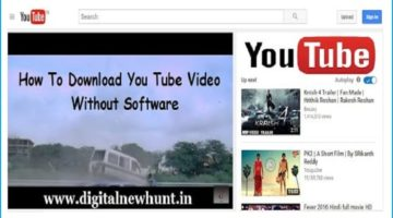 Youtube Se Video Download Kaise Kare Without Software in Hindi